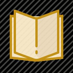 book, brouchure, catalog, paper, reading icon