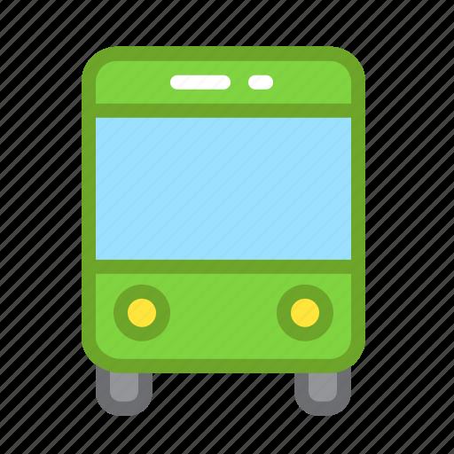 bus, city, navigation, transportation icon
