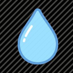 drop, fall, rain, water, weather icon