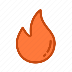 danger, explosive, fire, flamamble, flame icon