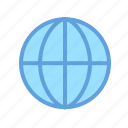 earth, global, globe, internet, navigation, network icon