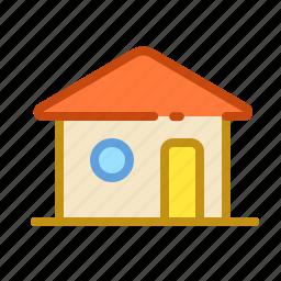 building, condomonium, home, house, roof icon