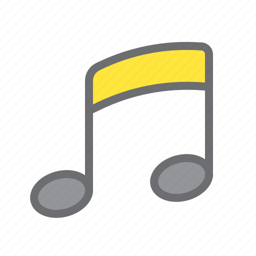 music, note, play, sign icon