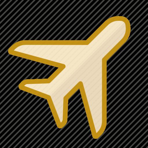 aero, airport, pilot, plane, sky icon