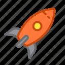 application, fast, launch, rocket, start, startup