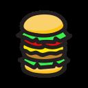big mac, burger