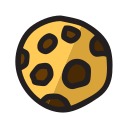 biscuit, chips, cookie, food, snack icon