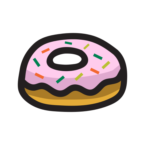 dessert, donut, food, sweet icon