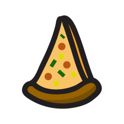 food, pizza, snack icon
