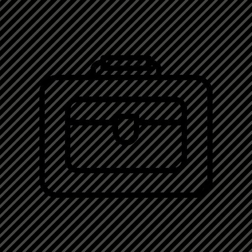Bag, case, handbag, kit, pouch, purse icon - Download on Iconfinder