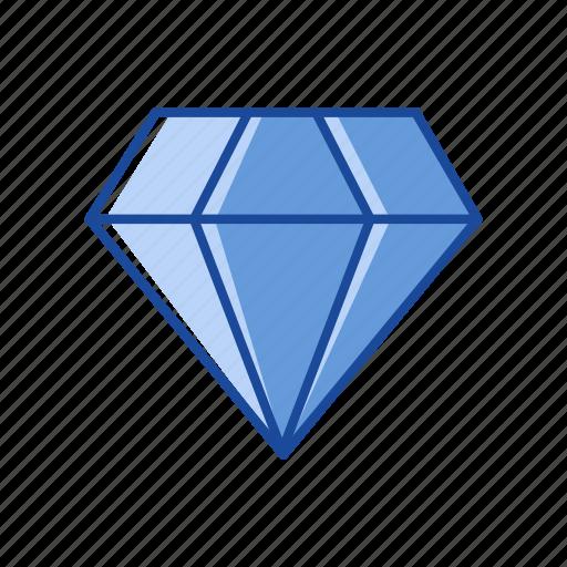 diamond, gem, gold, treasure icon