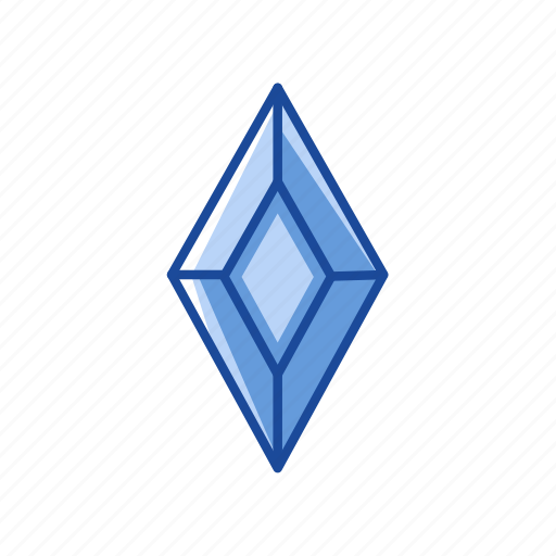 Diamond, gem, gold, treasure icon - Download on Iconfinder