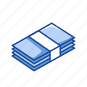 bills, cash, finance, payment icon