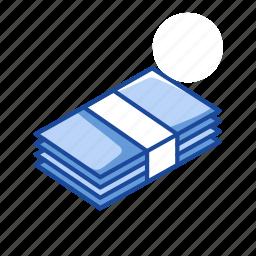 bills, cash, finance, payment icon