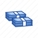 bills, cash, dollar, payment icon