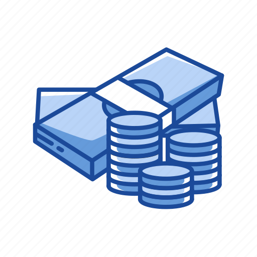 bills, cash, coins, currency icon