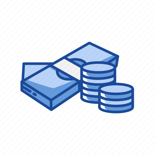 bill, cash, coins, payment icon