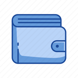 cash, finance, leather, wallet icon