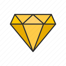 diamond, gem, jewel, ruby icon