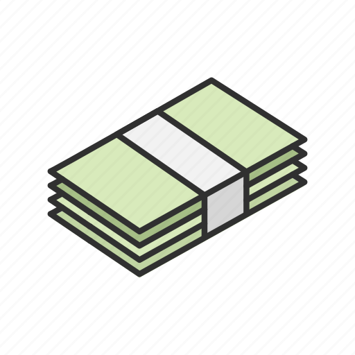 Bills, cash, dollar bills, money icon - Download on Iconfinder
