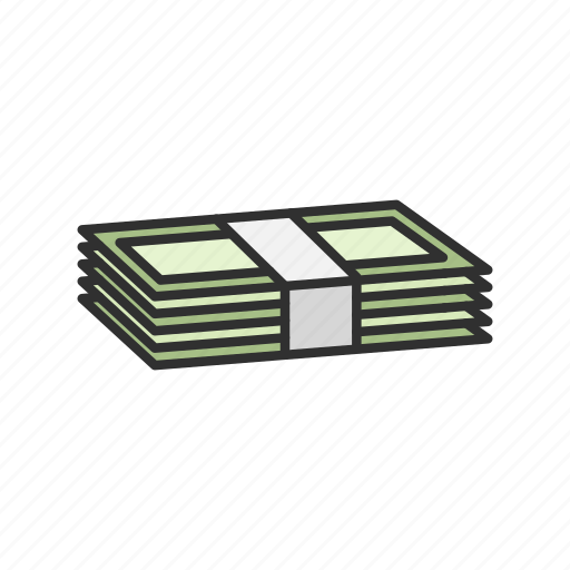 bills, cash, dollars, money icon