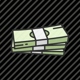 bills, cash, dollar bills, money icon