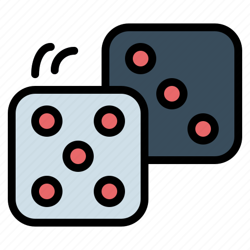 bet, casino, dice, dices, gambling icon