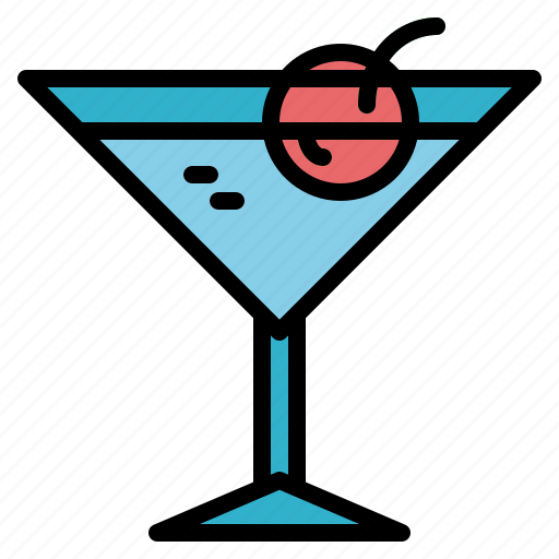 alcohol, alcoholic, drink, martini icon