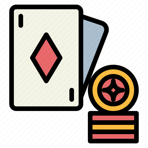 cards, chip, chips, gambling, poker icon