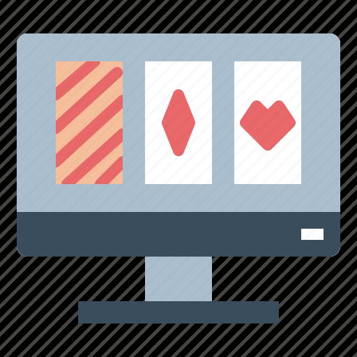 cards, gambler, gambling, online, poker icon