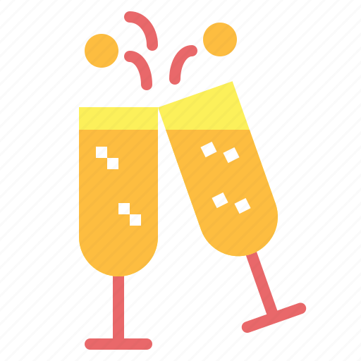 alcohol, celebration, cheers, drinks, toast icon