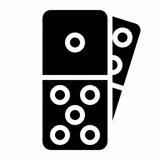 domino, game, leisure, pieces icon