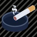 cigarette, smoking, tobacco, ashtray, cigar ashtray