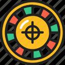 casino, roulette, wheel, fortune