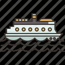 cruise, ship, luxury, travel, ocean