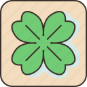 luck, fortune, clover, leaf, charms