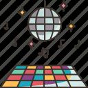 nightclub, disco, dancing, floor, music