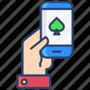 mobile, poker