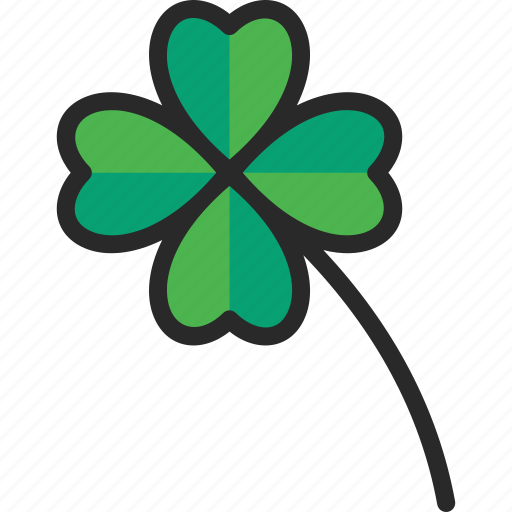 Charm, clover, four leaf, lucky icon - Download on Iconfinder