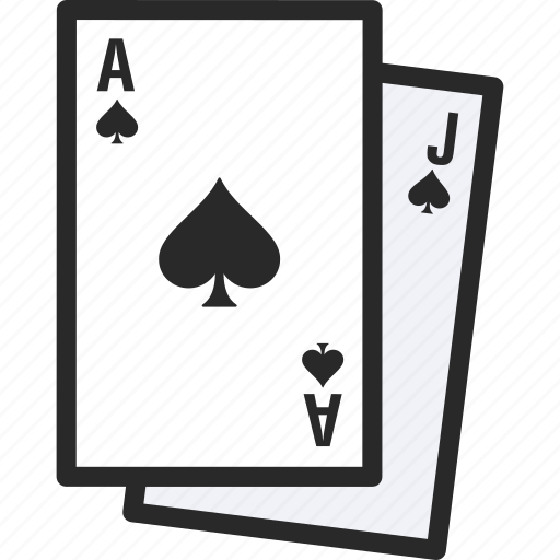 blackjack, cards, game, poker icon