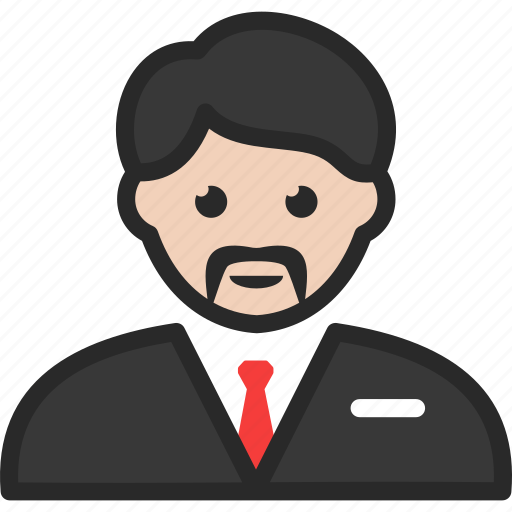 casino, manager, supervisor icon