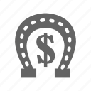 cash, casino, gambling, game, leisure, lucky icon