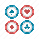 bet, casino, chip, chips, gamble, gambling, poker icon