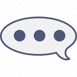 chat, contact, talk icon
