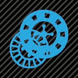 casino, leisure, roulette icon