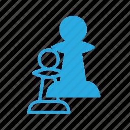 chess, game, leisure, pawn icon