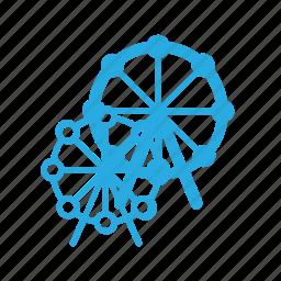 carousel, leisure, spinnig icon