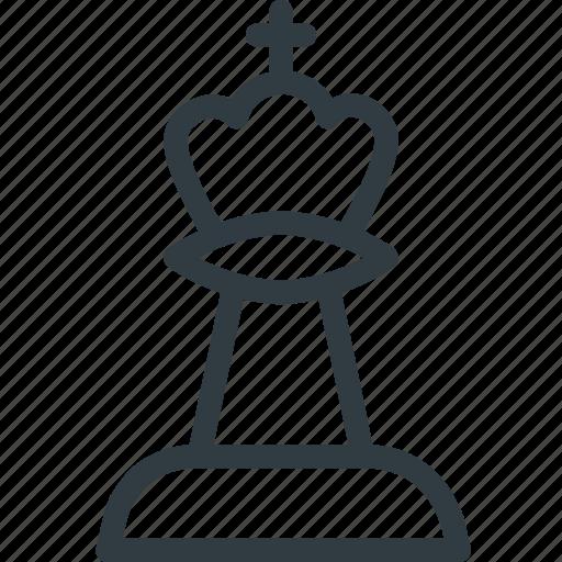 chess, figure, game, king, leisure icon