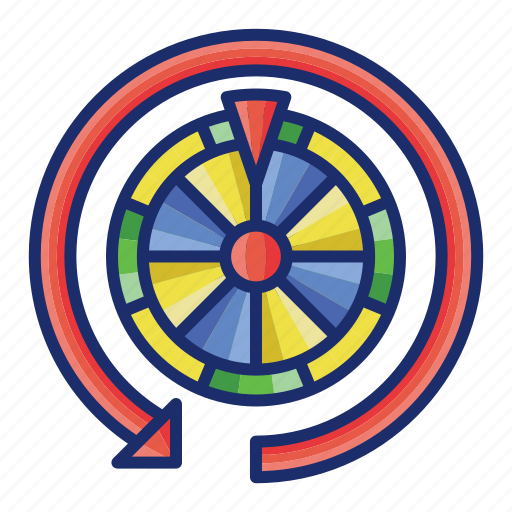 casino, free, game, roulette, spins icon