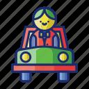 car, parking, service, valet